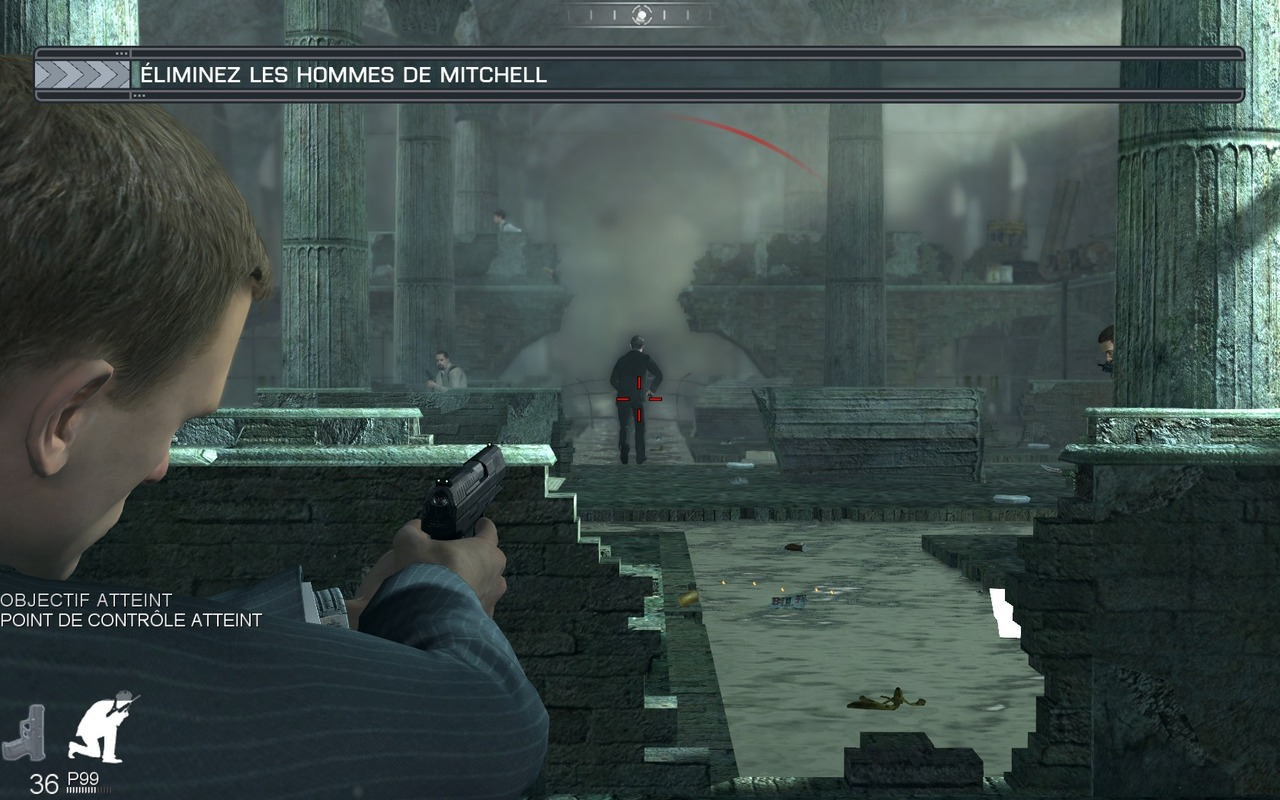 Pantallazo de Quantum of Solace: The Game para PC