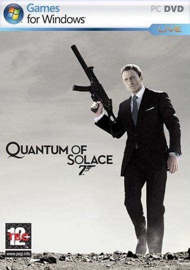 Caratula de Quantum of Solace: The Game para PC