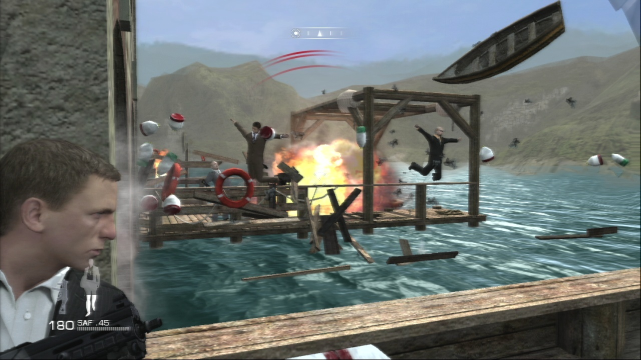 Pantallazo de Quantum of Solace: The Game para PlayStation 3