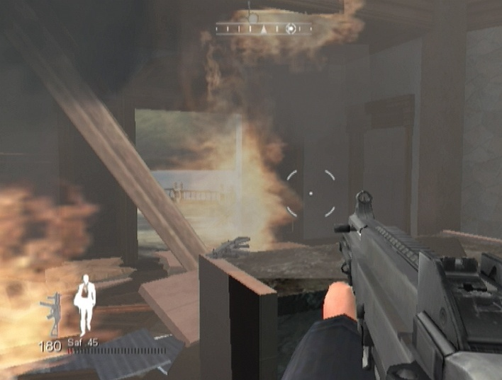 Pantallazo de Quantum of Solace: The Game para Wii