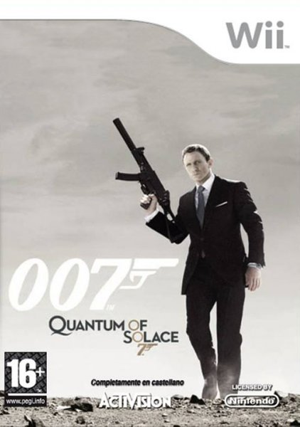 Caratula de Quantum of Solace: The Game para Wii