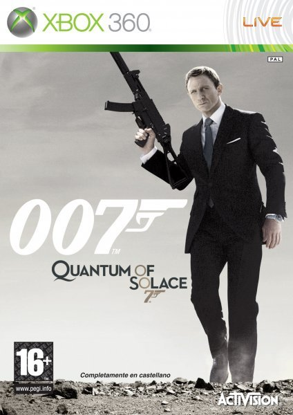 Caratula de Quantum of Solace: The Game para Xbox 360