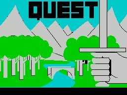 Pantallazo de Quest Adventure para Spectrum