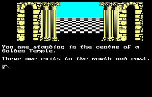 Pantallazo de Quest For The Golden Eggcup para Amstrad CPC