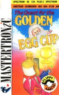 Caratula de Quest For The Golden Eggcup para Amstrad CPC