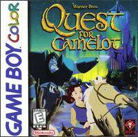 Caratula de Quest for Camelot para Game Boy Color