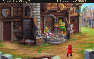 Pantallazo de Quest for Glory I: So You Want To Be A Hero (VGA Remake) para PC