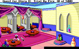Pantallazo de Quest for Glory II: Trial by Fire para PC