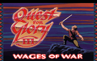 Pantallazo de Quest for Glory III: Wages of War para PC