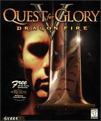 Caratula de Quest for Glory V: Dragon Fire para PC