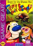 Caratula de Quest for the Shaven Yak starring Ren & Stimpy para Gamegear