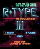 Carátula de R-Type III: The Third Lightning (Consola Virtual)