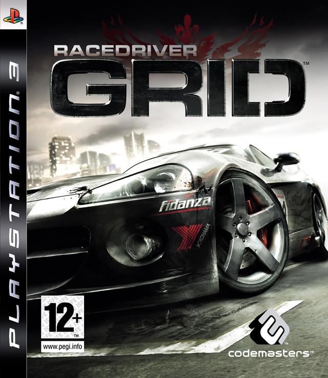 Caratula de Race Driver: GRID para PlayStation 3