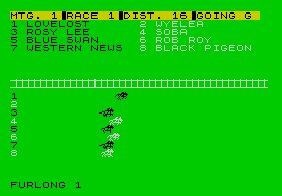 Pantallazo de Racing Manager para Spectrum