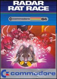 Caratula de Radar Rat Race para Commodore 64