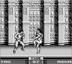 Pantallazo de Raging Fighter para Game Boy