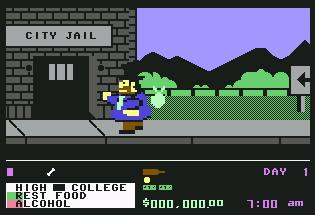 Pantallazo de Rags to Riches para Commodore 64