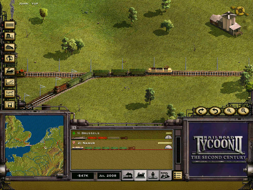 Pantallazo de Railroad Tycoon II: The Second Century para PC