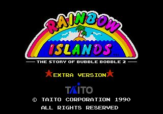 Pantallazo de Rainbow Islands: The Story of Bubble Bobble 2 (Japonés) para Sega Megadrive