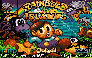 Pantallazo de Rainbow Islands: The Story of Bubble Bobble 2 para Atari ST