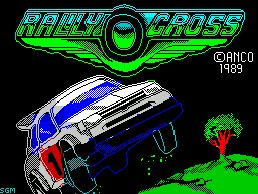 Pantallazo de Rally Cross para Spectrum