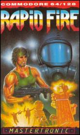 Caratula de Rapid Fire para Commodore 64