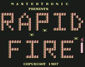 Pantallazo de Rapid Fire para Commodore 64