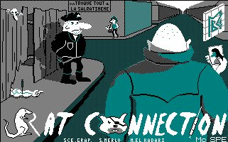 Pantallazo de Rat Connection para Amstrad CPC