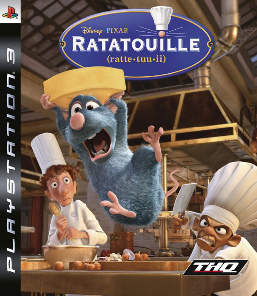 Caratula de Ratatouille para PlayStation 3