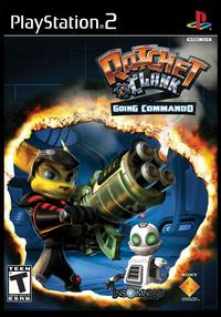 Caratula de Ratchet & Clank: Going Commando para PlayStation 2