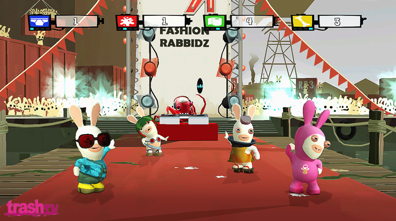 Pantallazo de Rayman Raving Rabbids TV Party para Wii