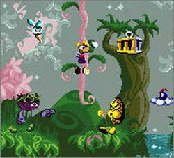 Pantallazo de Rayman para Game Boy Color