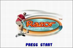 Pantallazo de Razor Freestyle Scooter para Game Boy Advance