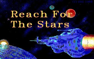Pantallazo de Reach for the Stars (1988) para PC