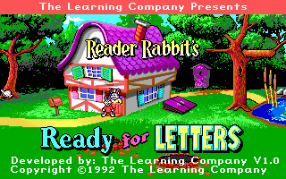 Pantallazo de Reader Rabbit's Ready for Letters para PC