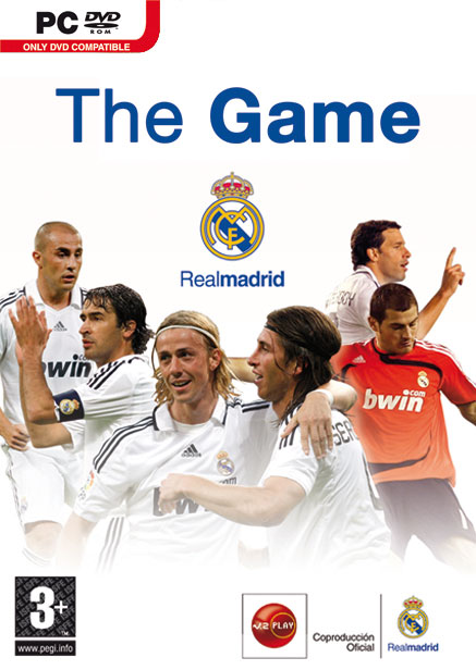 Caratula de Real Madrid: The Game para PC