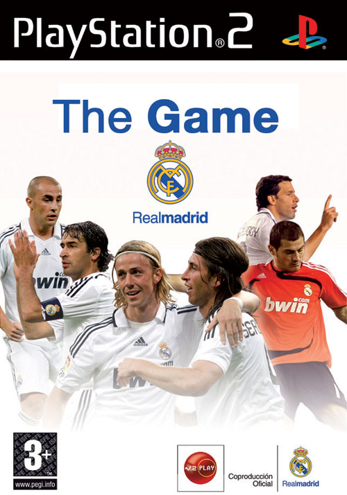 Real Madrid: The Game - PlayStation 2 Caratula nº 134616 (3 de 4