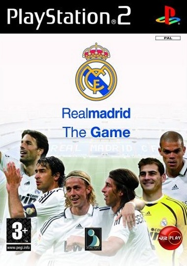 Caratula de Real Madrid: The Game para PlayStation 2