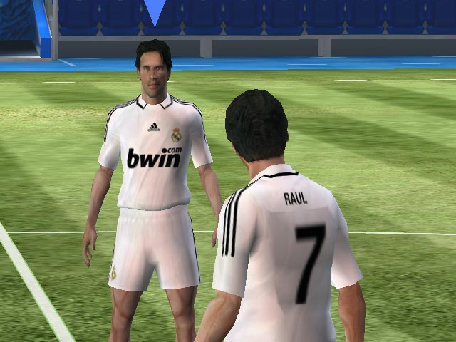 Pantallazo de Real Madrid: The Game para PSP