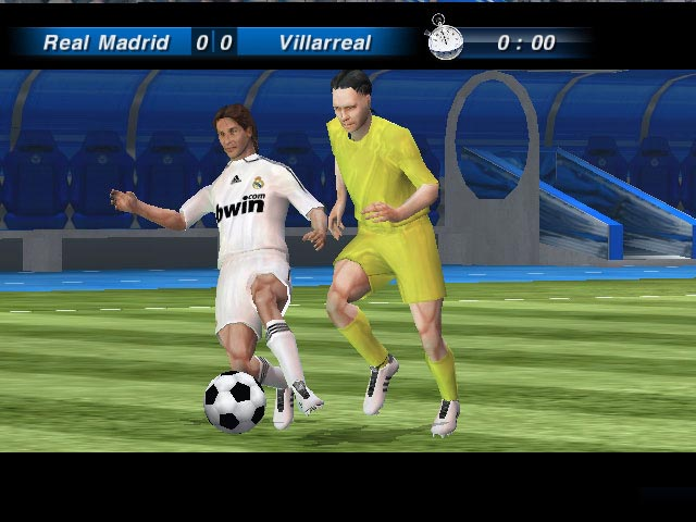 Pantallazo de Real Madrid: The Game para Wii