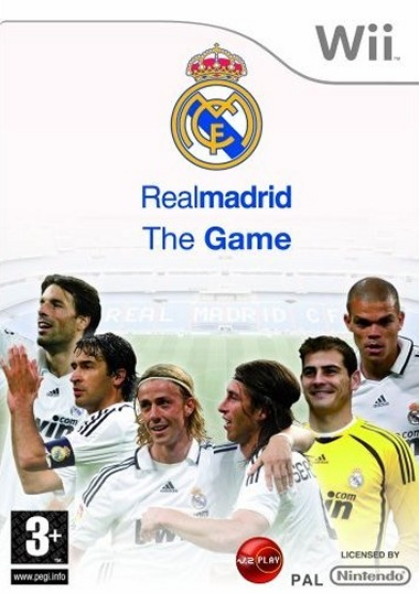 Caratula de Real Madrid: The Game para Wii