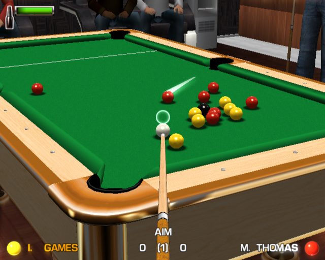 Pantallazo de RealPlay Pool para PlayStation 2