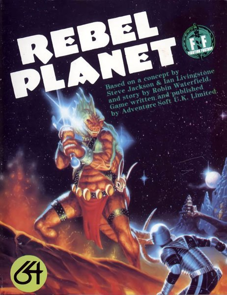 Caratula de Rebel Planet para Commodore 64