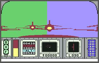 Pantallazo de Red Arrows para Commodore 64