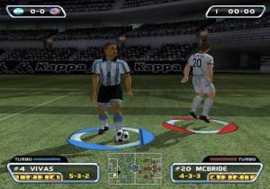 Pantallazo de Red Card Soccer para PlayStation 2