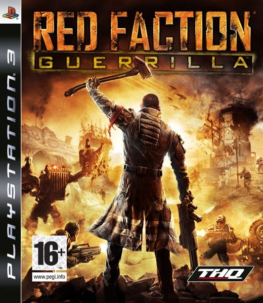 Caratula de Red Faction: Guerrilla para PlayStation 3