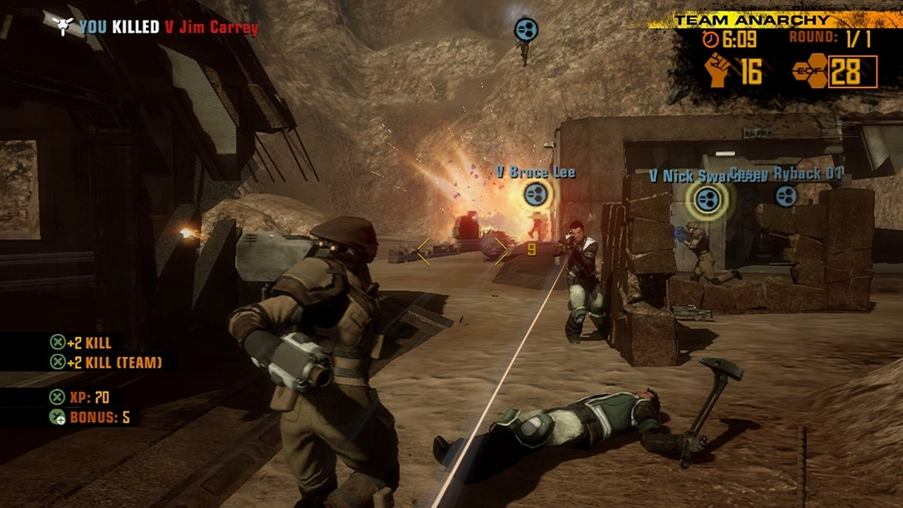 Pantallazo de Red Faction: Guerrilla para Xbox 360