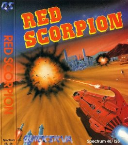 Caratula de Red Scorpion para Spectrum