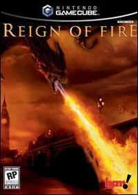 Caratula de Reign of Fire para GameCube