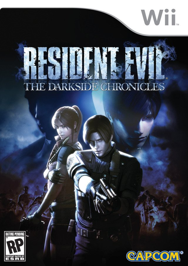 Caratula de Resident Evil: The Darkside Chronicles para Wii
